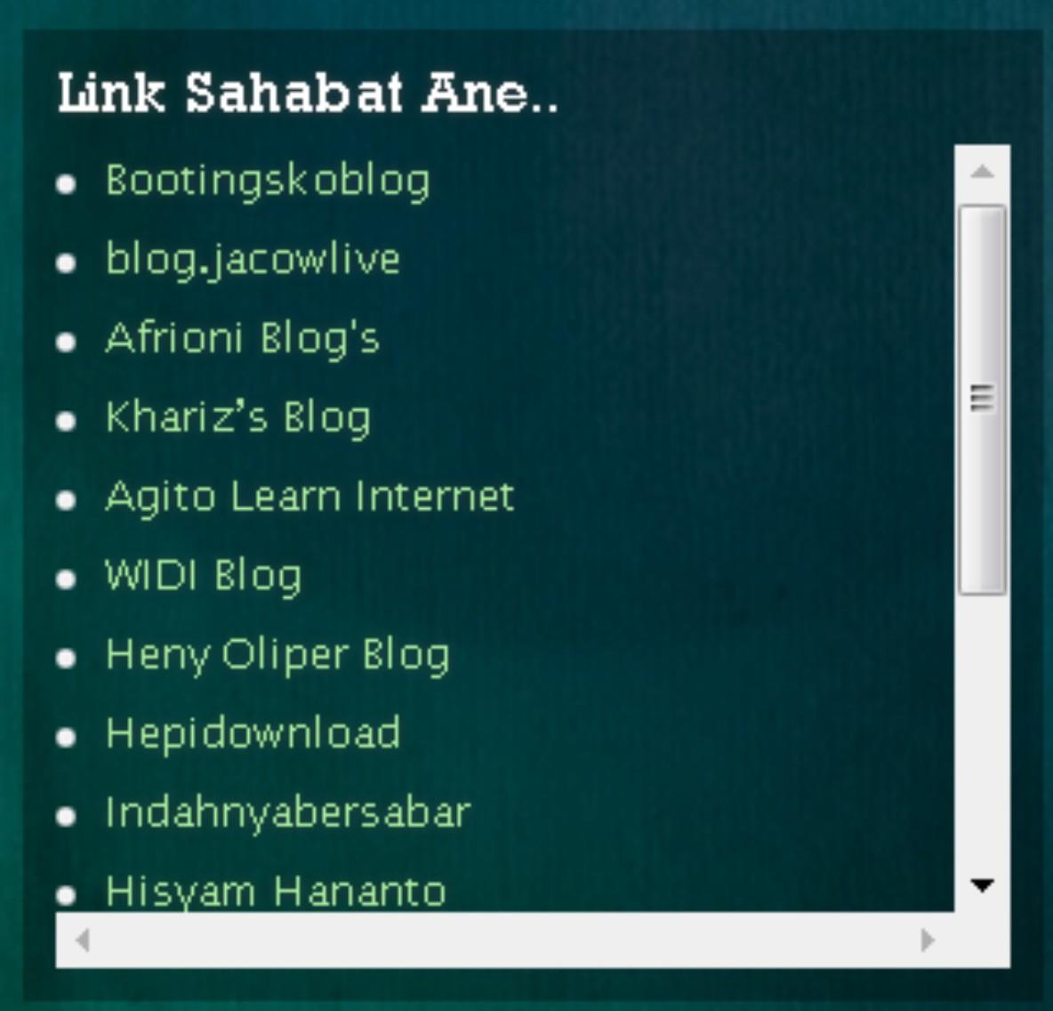 Cara Membuat Banner Dalam Scroll Di Sidebar WordPress PressDesain