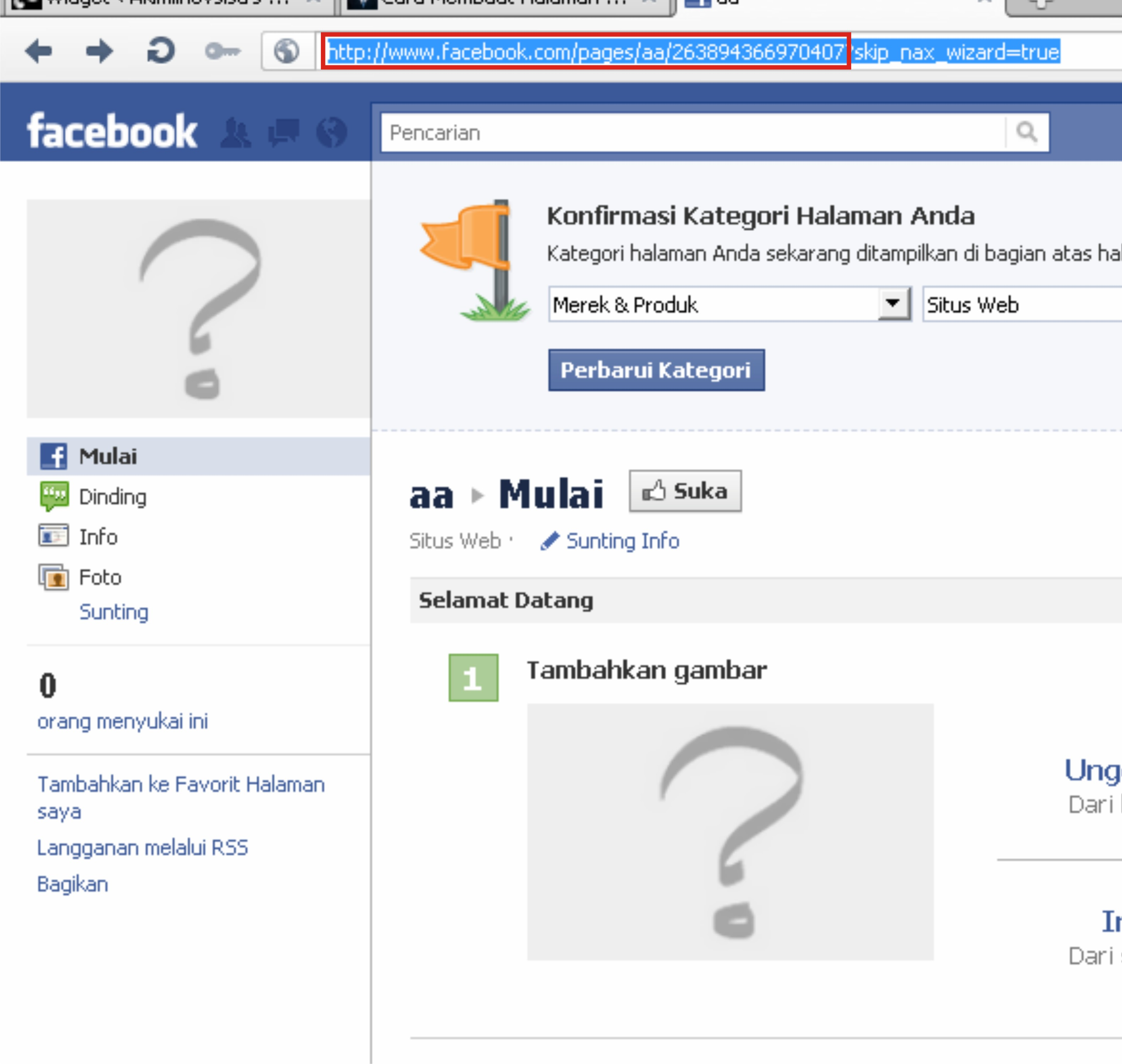 Cara Membuat Halaman Facebook Like Box Pada WordPress