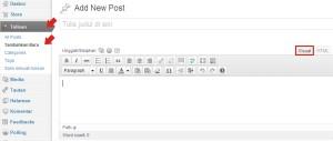 Cara membuat Slideshow Gambar pada Artikel di Blog Wordpress