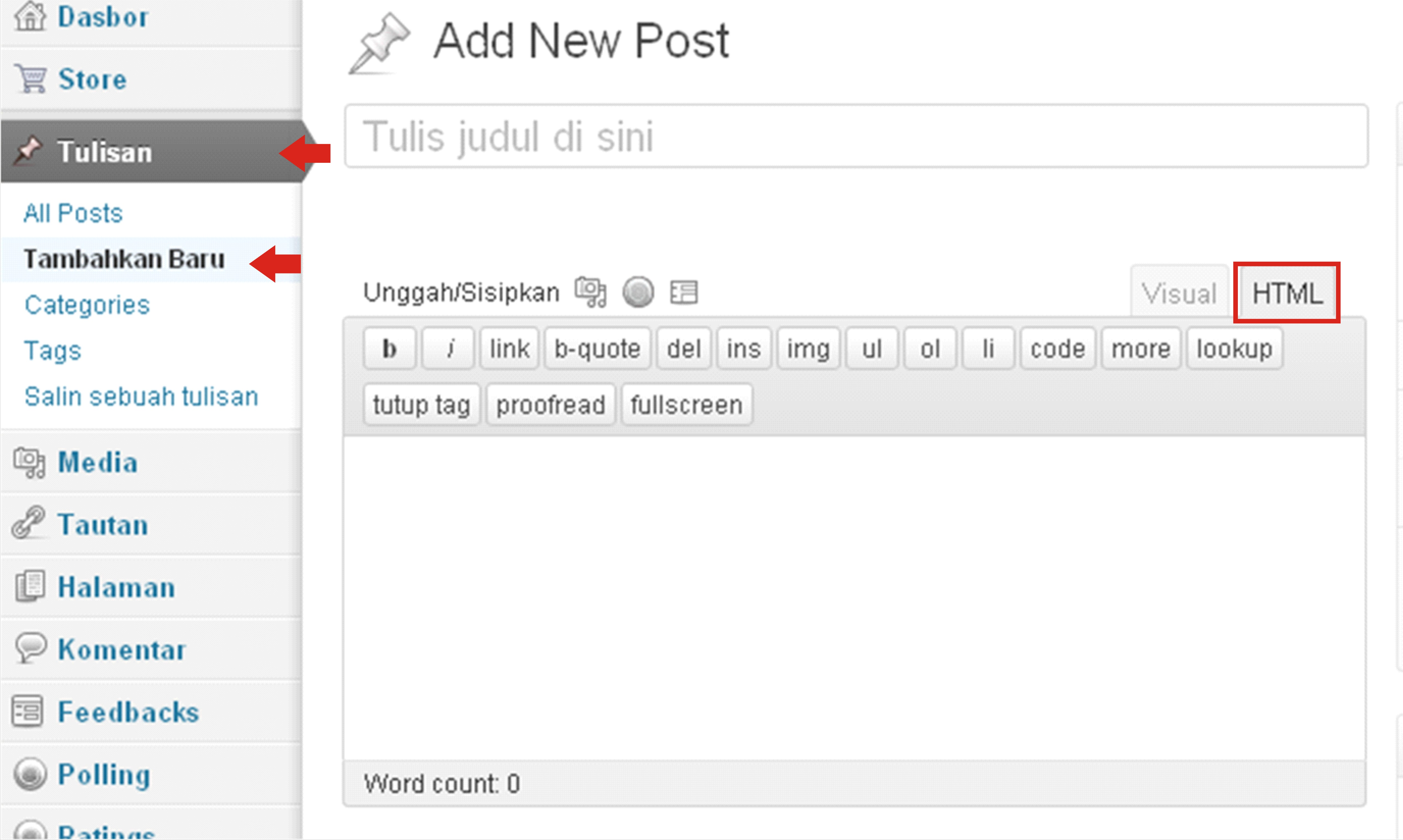 Memasang Foto Gambar Pada Sisi Sidebar WordPress Dengan Widget